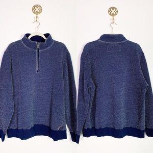 Tommy Bahama 1/4 Zip Piullover XL euc